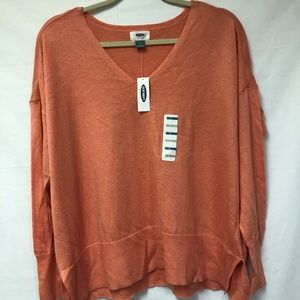 NWT Old Navy V Neck Pullover Sweater
